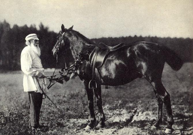 The last years of the life of Tolstoy Lev Nikolaevich