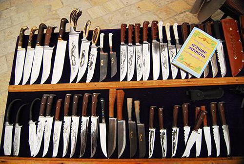 узбекские ножи ручной работы