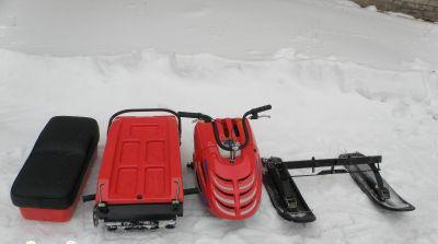 snowmobile burlak specifications