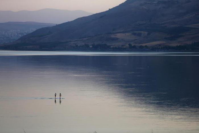 tiberias lake israel photo