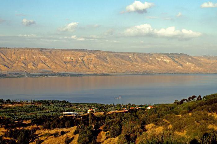Lake Tiberias golan heights