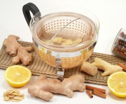 корень имбиря и лимон для похудения рецепт
