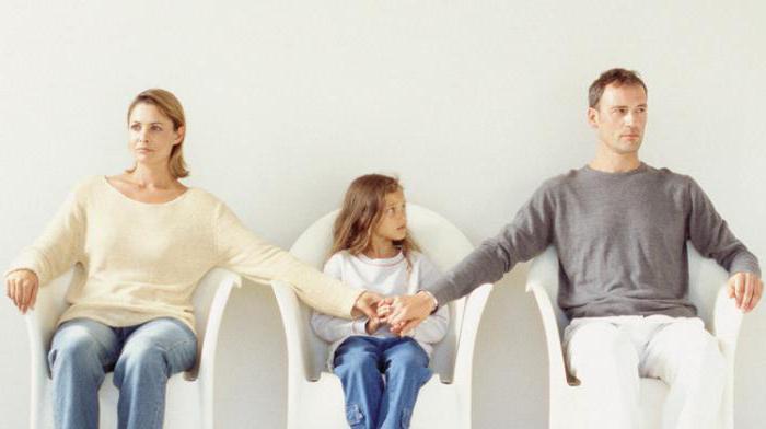 дети остались с мужем после развода