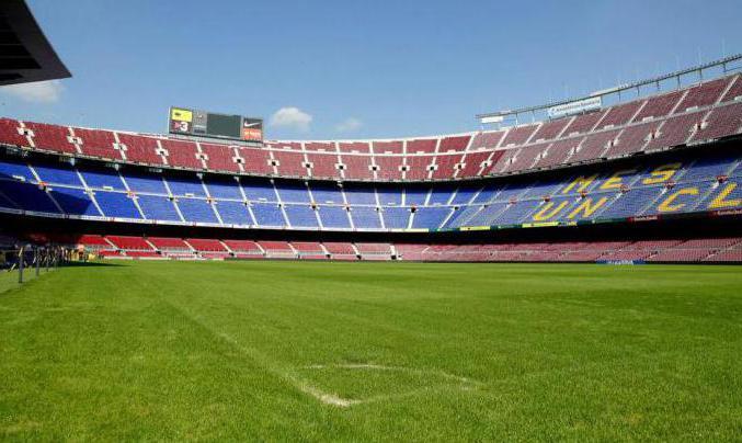 «Камп Ноу» – лучший стадион Барселоны :: SYL.ru Стадион Барселоны Вместимость
