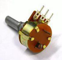 damper potentiometer