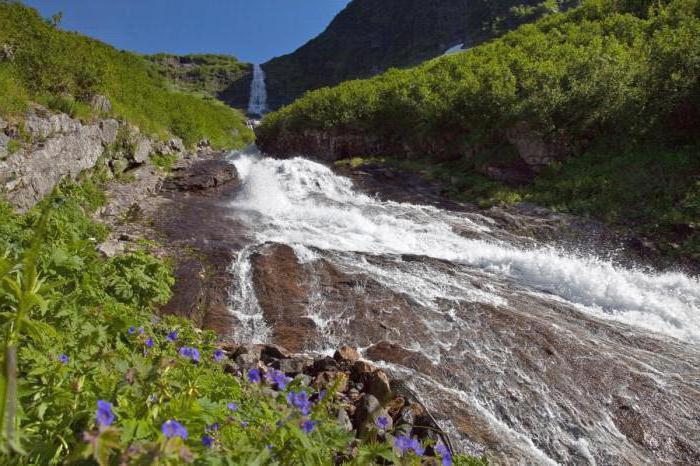 Kinzeluk waterfall height