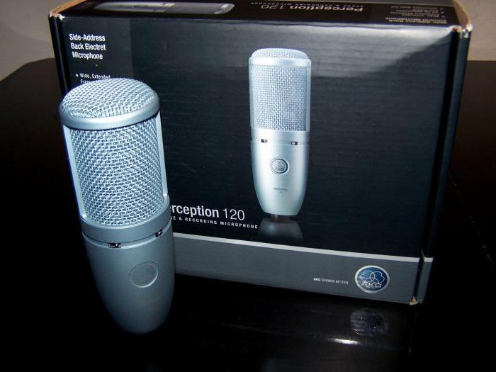 микрофон akg perception 120 usb цена