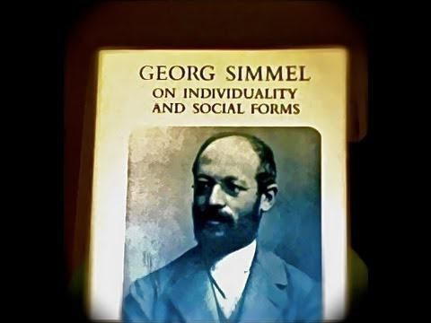 the main ideas of Georg zimmel