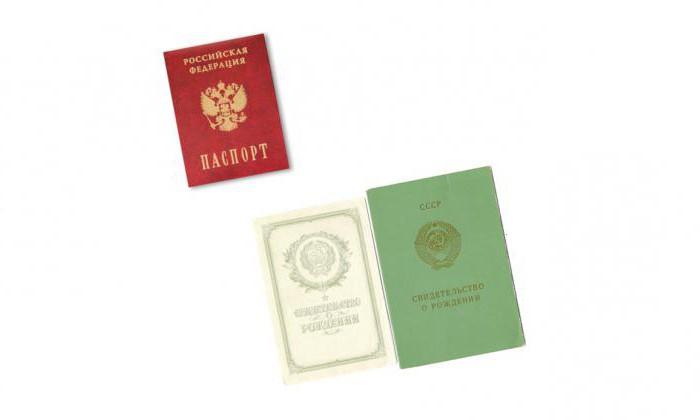 Документы, удостоверяющие личность на территории РФ