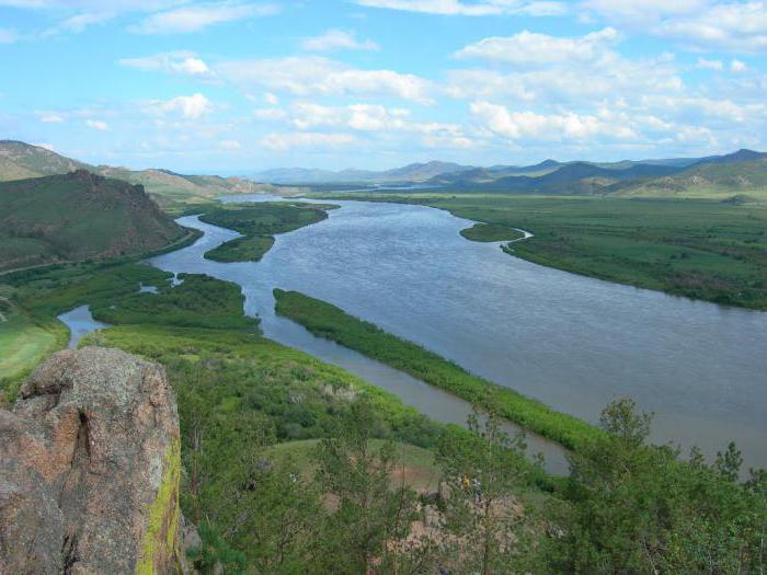 Selenga River in Buryatia