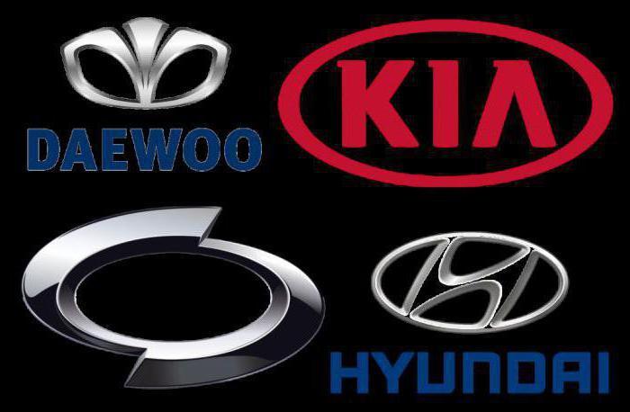 корейские автомобили фото