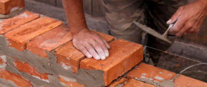 Кладка своими руками стены