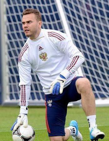 Igor Akinfeev's height