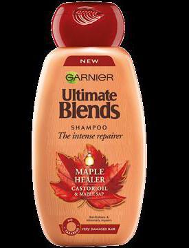 Shampoo garnier castor oil