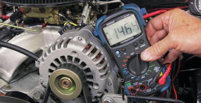 Плохая зарядка генератора причины