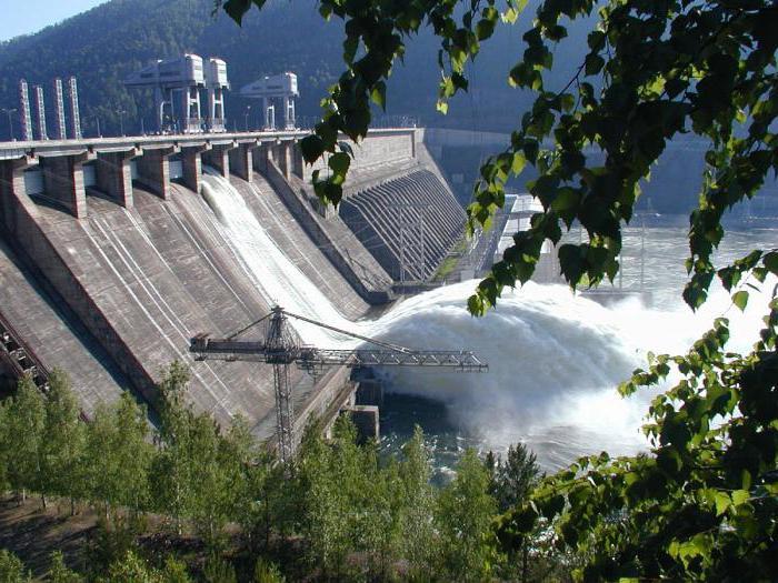 Ust-Ilimsk Hydro Power Plant photo