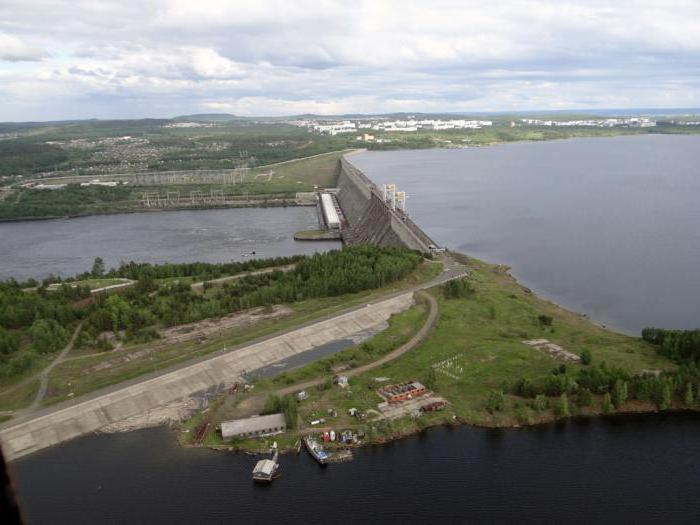 construction of the Ust-Ilimsk hydroelectric station