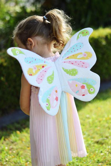 Костюм для бабочки своими руками 407