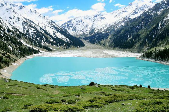 Almaty Big Almaty Lake
