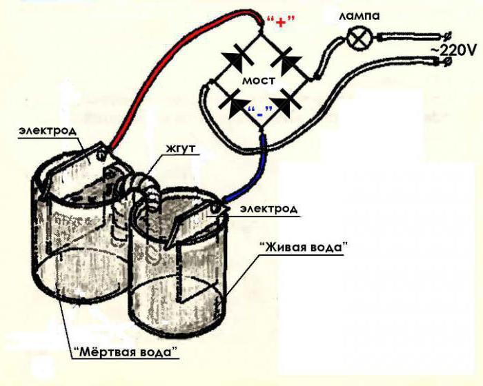 Как сделать аппарат живой и мертвой воды своими руками? :: SYL.ru
