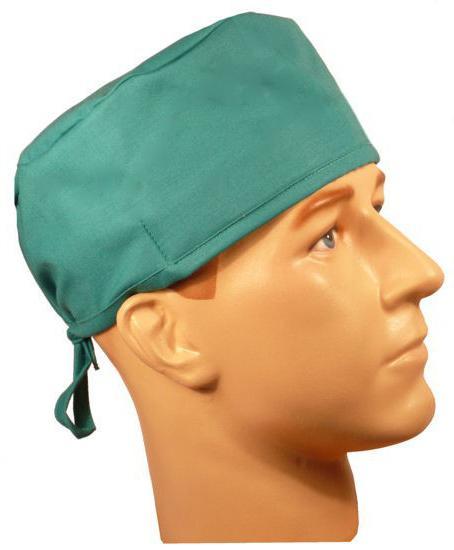 Одноразовая медицинская шапка пилотка