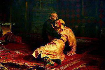 Ilya Repin paintings with titles
