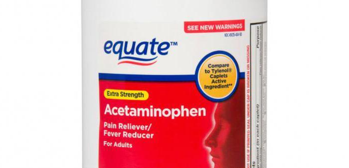 ацетаминофен инструкция по применению при беременности