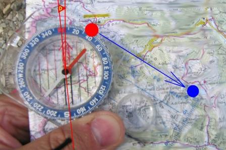 how to find the azimuth