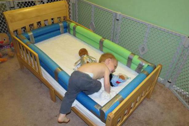 Барьеры для кроваток своими руками 46