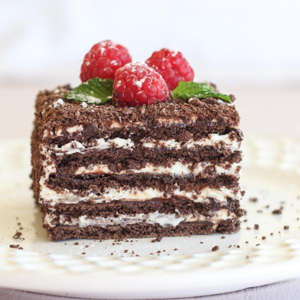 рецепт торта спартак с заварным кремом