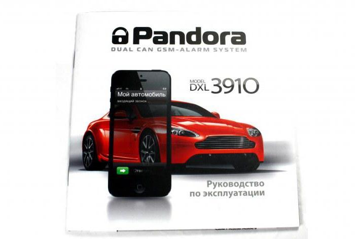 Pandora 3910 User Manual