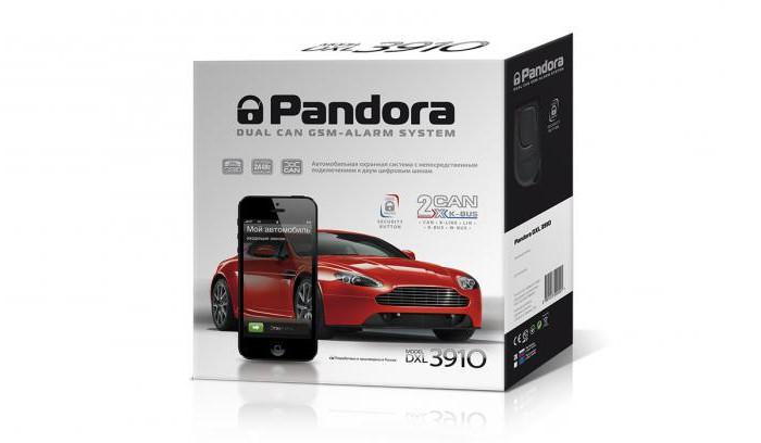 alarm pandora 3910