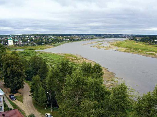 река сухона длина