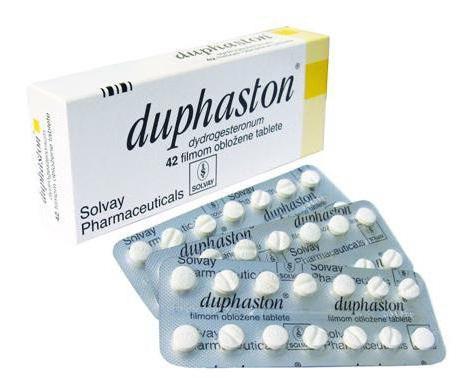 adoption of duphaston
