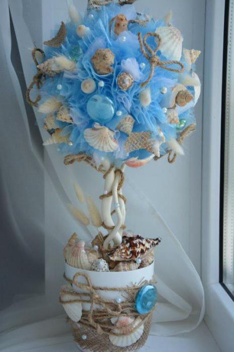 seashell topiary photo