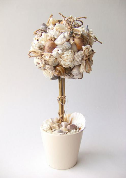 Topiary from shells do it yourself photo