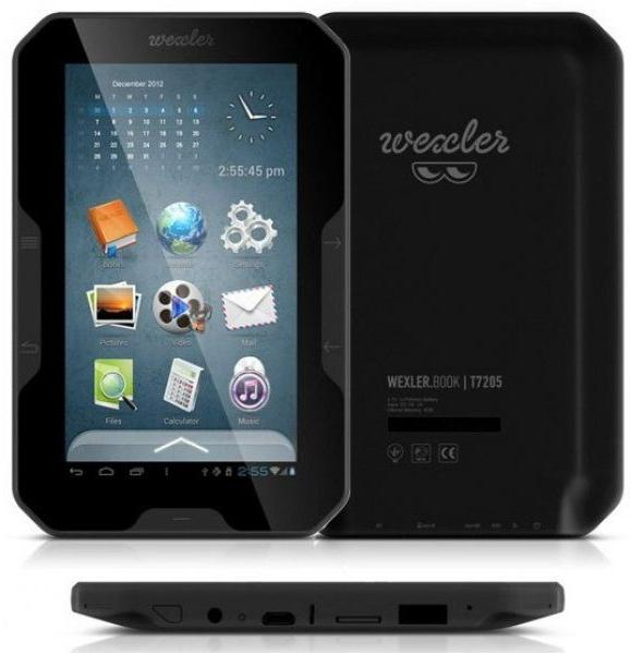 electronic book wexler book t7205