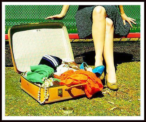 dream book to lose a suitcase