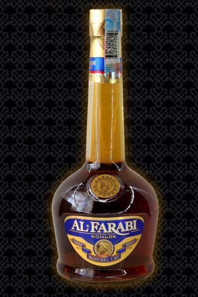 Казахский коньяк альфараби