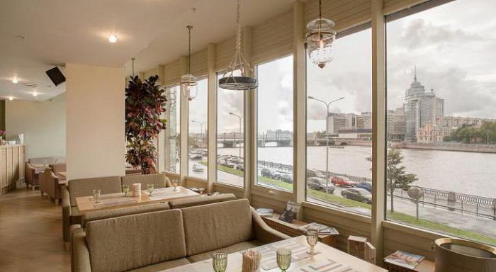 restaurants with panoramic views of St. Petersburg