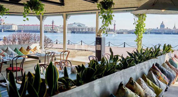 inexpensive restaurants in St. Petersburg with panoramic views