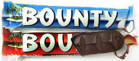 mars chocolate bounty