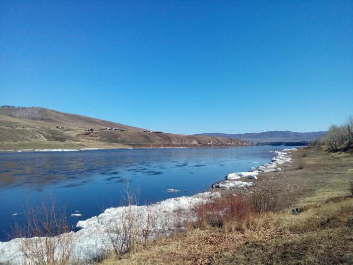 Shilka river