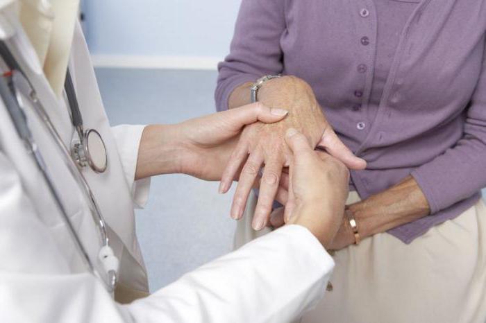 Ревматоидный артрит пальцев рук - первые симптомы лечение