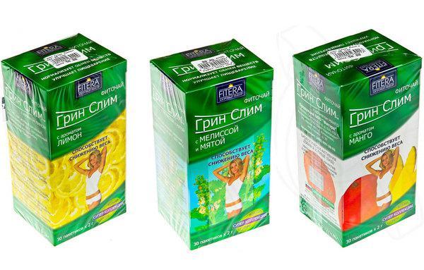 Чай для похудения грин слим инструкция 3