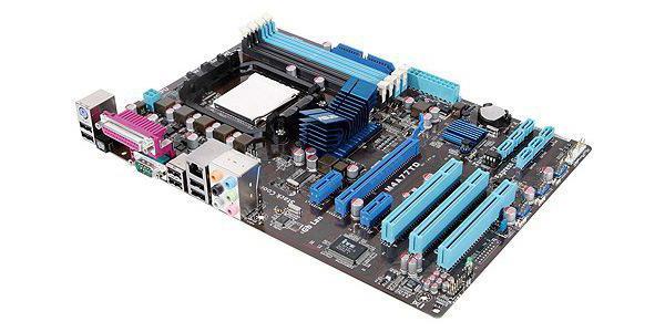 asus m4a77td processors