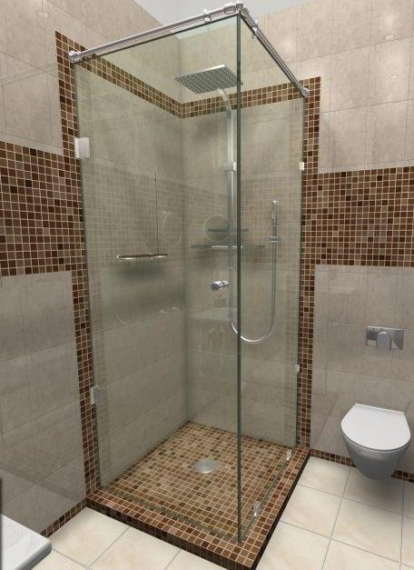 heated shower stall