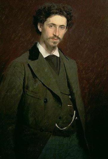 Fedor Vasiliev's painting wet meadow