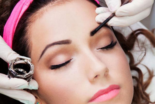 eyebrow and eyelashes igora paint