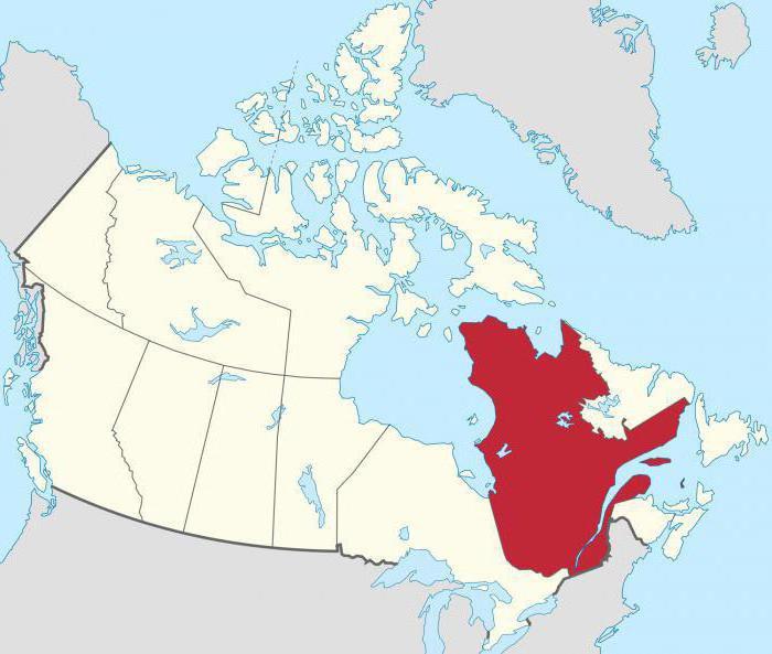 Где находится город Квебек